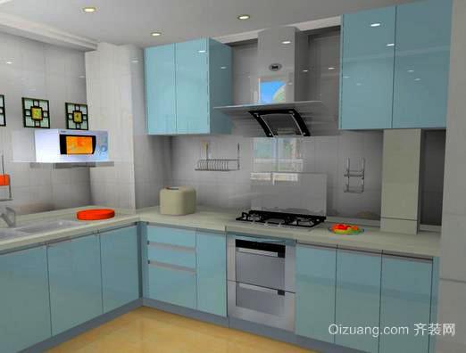 厨房橱柜颜色也有风水讲究 里面学问很深