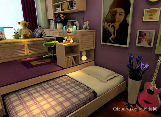 小卧室设计技巧 掌握这9点空间1秒变大