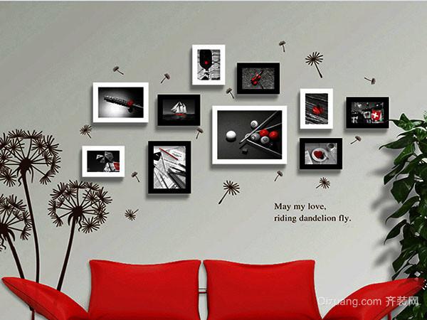 照片墙设计技巧 省钱又有格调