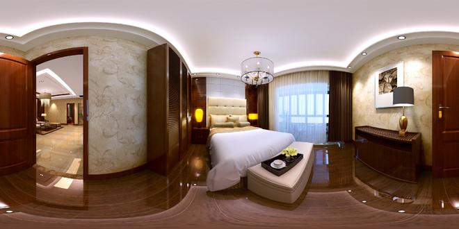 现代家居装修设计全景3D效果图