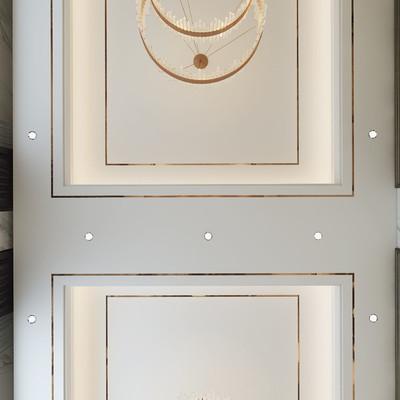 常州西夏墅自建别墅客厅装修设计案例