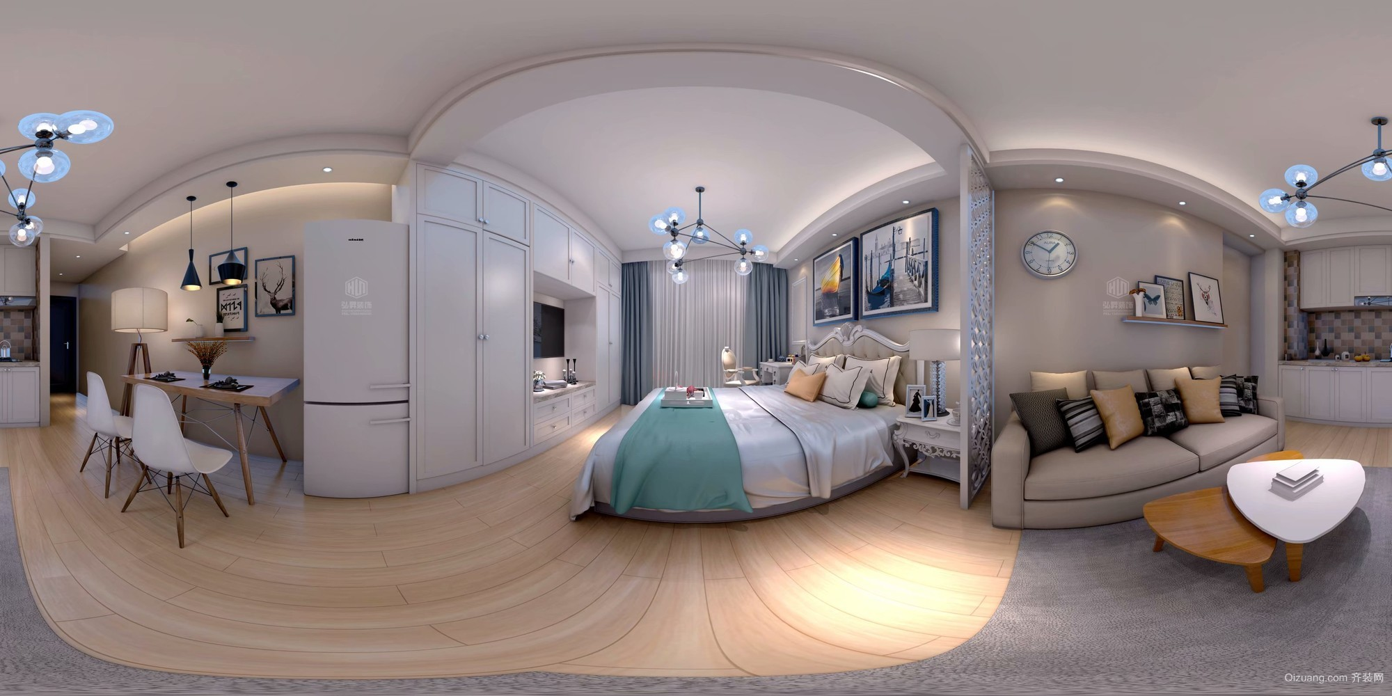 伊顿公馆公寓现代风格