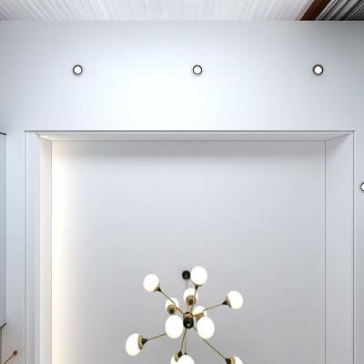 石狮现代简约客厅装修设计案例