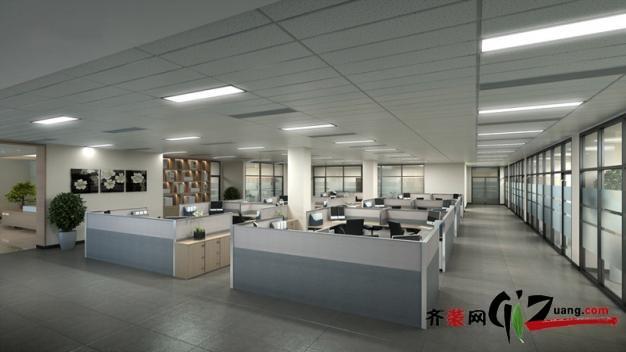 现代简约办公室装修装修效果图