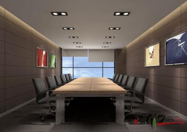 德诺装饰审计厅小会议室现代简约装修效果图2011