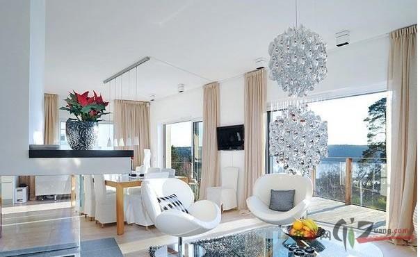 欧式风格美颂雅庭度假别墅装修效果图