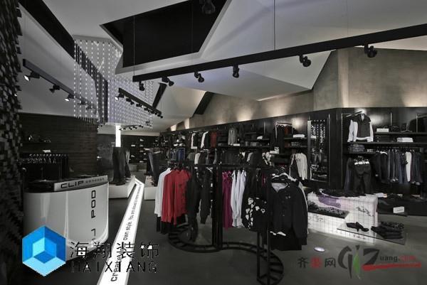 海翔裝飾服裝店現代簡約裝修效果圖