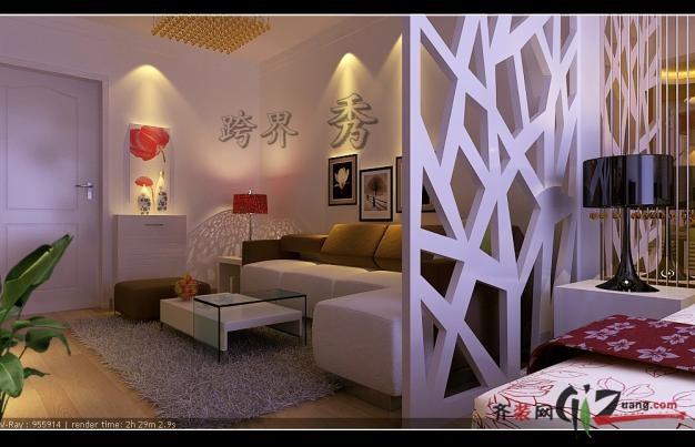 跨界精品装饰设计机构阳光100现代简约装修效果图