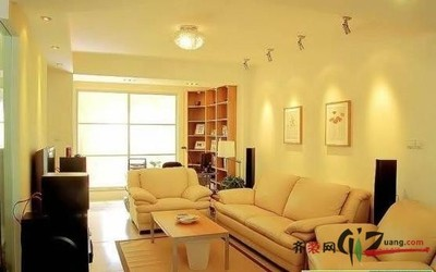 南京旧房改造-86平米两居4.5万装修改造装修设计案例