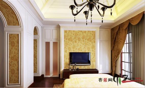 欧式客厅石材拱门造型