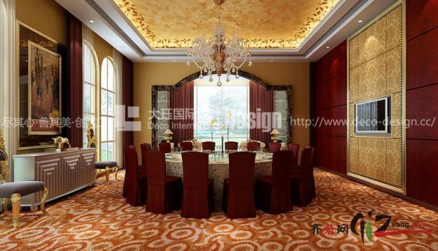 上海大珏国际设计金华酒店欧式风