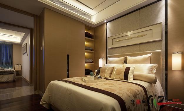 南京冠全装饰现代中式风格现代简约装修效果图
