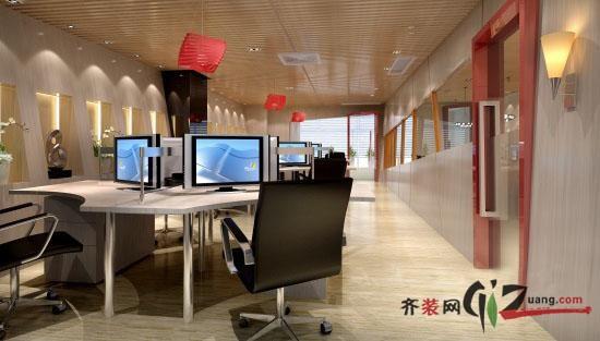 江蘇鷗鼎建筑裝飾新區辦公室裝修現代簡約裝修效果圖