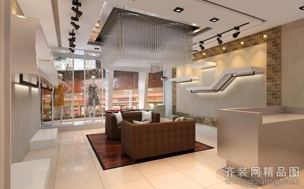 北京馨居盛业装饰石路服装店欧式风格装修效果图