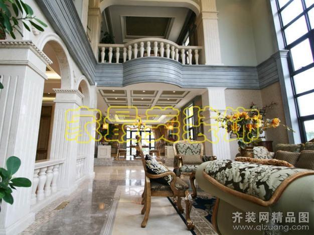 南京家最美装饰别墅设计欧式风格装修效果图