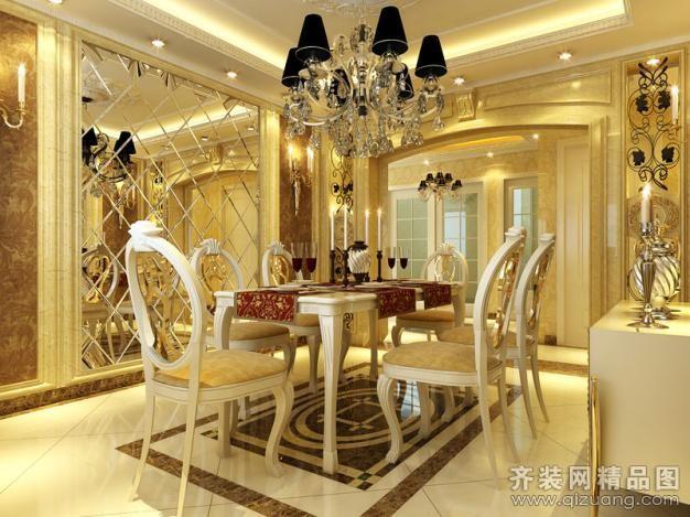 南京时时洁装饰江宁别墅欧式风格装修效果图