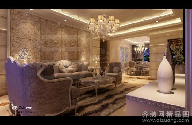 常州森品装饰丰乐公寓欧式风格装修效果图2012