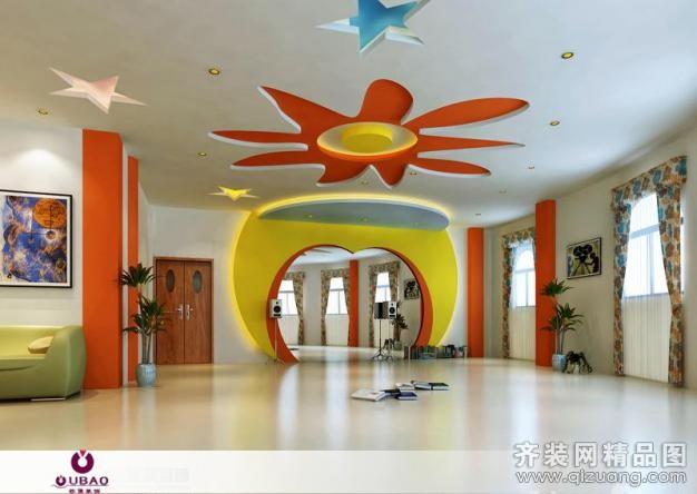 无锡欧堡装饰【幼儿园混搭风格装修效果图2011图片】