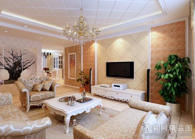 北京亚光亚装饰简欧风格欧式风格装修效果图