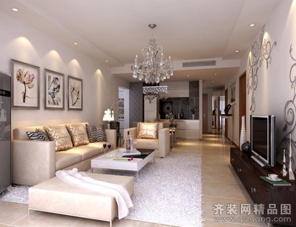 现代简约风格 户型结构:普通户型3室2厅1卫 房屋面积:...