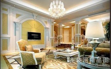 昆山城市之家装饰欧式风格现代简约装修效果图
