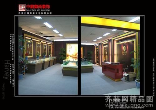 现代简约杭州万都房交会展厅装修效果图