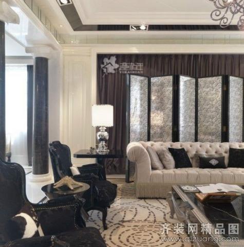 南京意柏年装饰名嘉佳园欧式风风格别墅户型美式风格