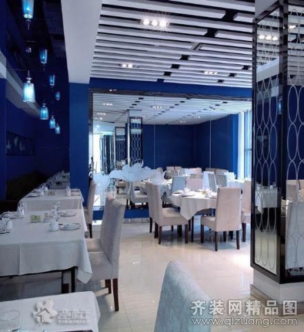 南京意柏年装饰时尚餐厅地中海风格装修效果图