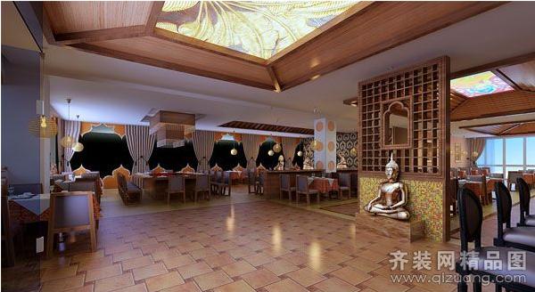 东易日盛【泰式餐厅古典风格装修效果图2012图片】装修图片2012图片