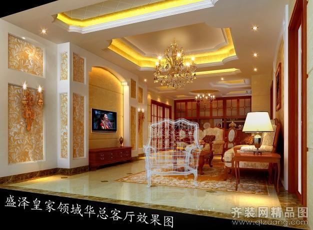 苏州唯品装饰吴江盛泽皇家领域欧式风格装修效果图