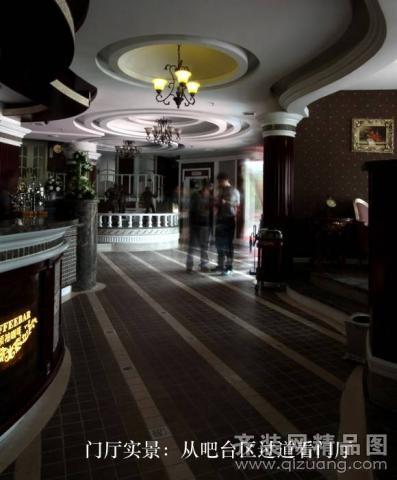 名门世家装饰【咖啡厅欧式风格装修效果图2011图片】