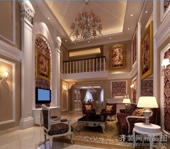 别墅户型5室2厅4卫 房屋面积:390平米 装修类型:家装 设计风格:欧式图片