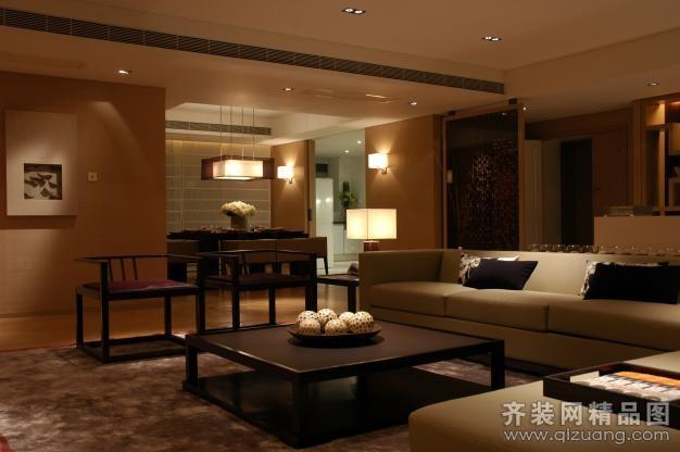 苏州华轩装饰中式风格现代简约装修效果图