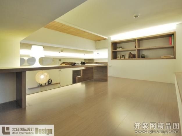 上海大珏国际设计【小户型复式公寓现代简约装修效果图2013图片】装修图片