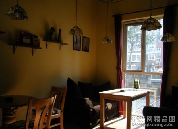 珠海新艺门装饰桐泾路朗星咖啡店欧式风格装修效果图