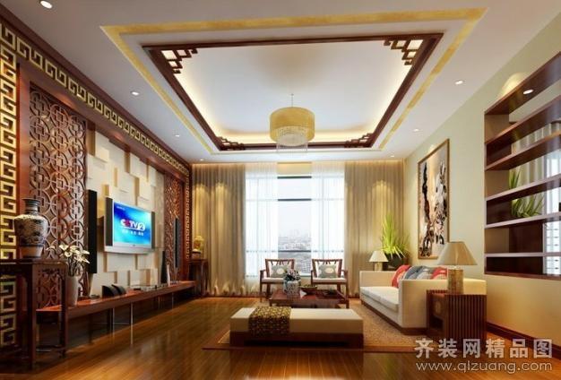南京意柏年装饰中式家装别墅现代简约装修效果图