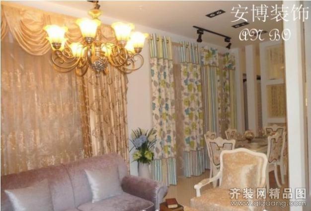 安博装饰第六空间窗帘店现代简约装修效果图