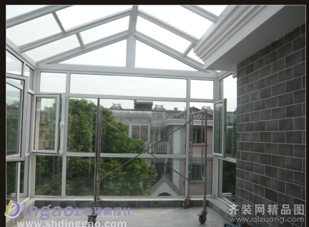 上海顶高装饰御花园别墅实景图欧式风格装修效果图