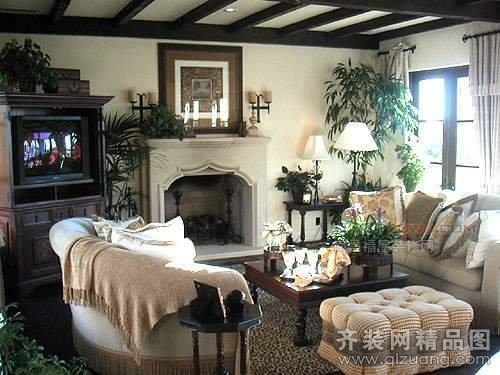 家装案例 豪郡装饰【大上海美式风格装修效果图图片