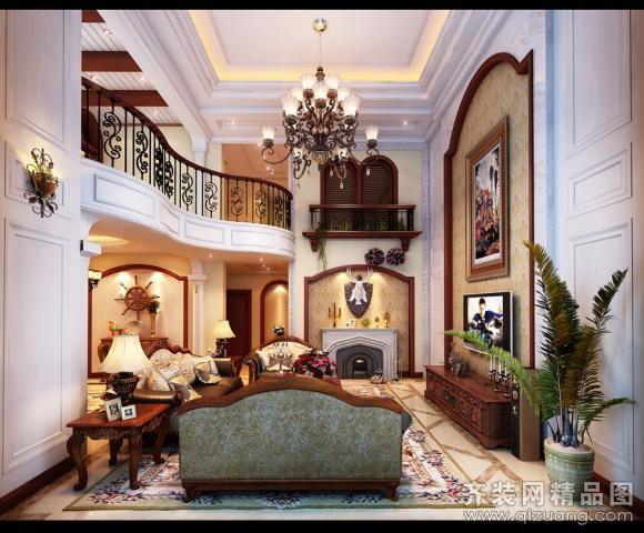 南冠装饰坎山自建房欧式风格装修效果图