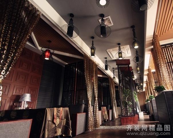 南京意柏年装饰【中式浓情咖啡厅中式风格装修效果图图片】装修图片图片
