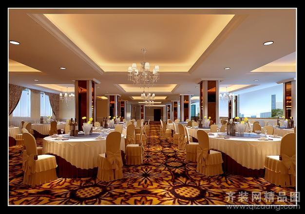 泓晖装饰小榄酒店西餐厅欧式风格装修效果图2011图片