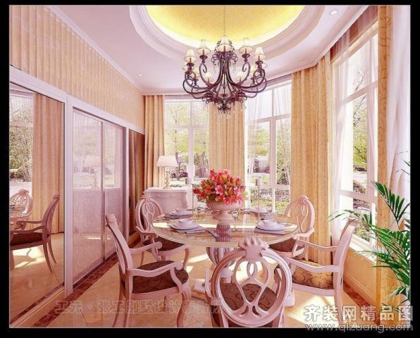 台州工元装饰皇都别墅欧式风格装修效果图