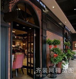 苏州绿风装饰咖啡厅欧式风格装修效果图2012