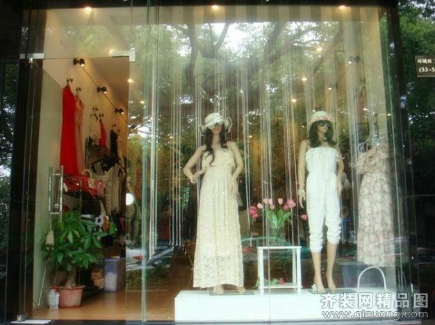 惠州市骏龙装饰惠州市西湖衣服档口欧式风格装修效果