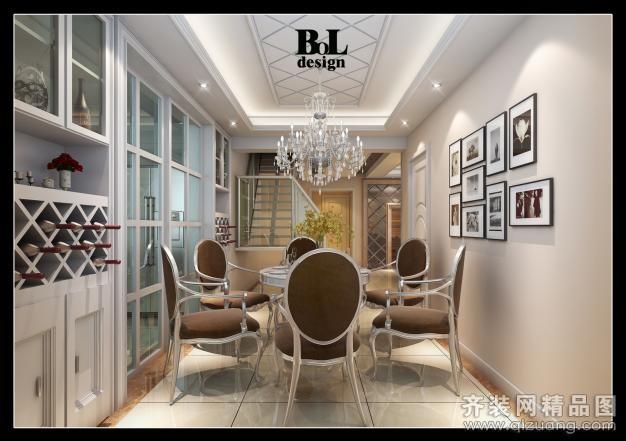 柏霖设计【丰乐公寓欧式风格装修效果图2013图片】装修图片2013图片