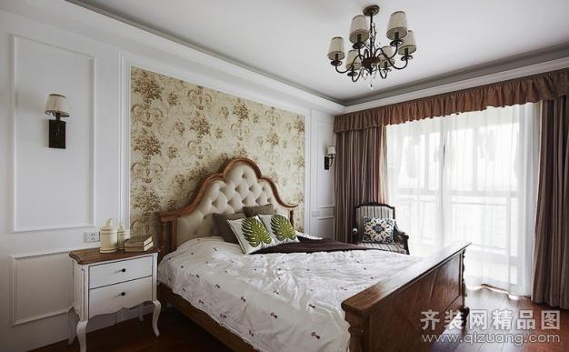 家裝案例 三空間裝飾【菩提苑美式風格裝修效果圖