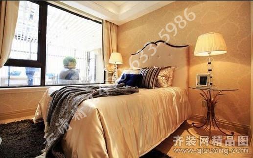风景英伦欧式三室二厅二卫装修案例效果图 113平米设计