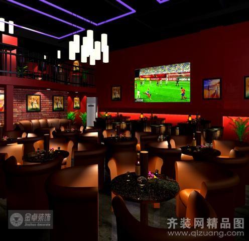 珠江新城兴国路食街高迪酒吧欧式风格装修效果图