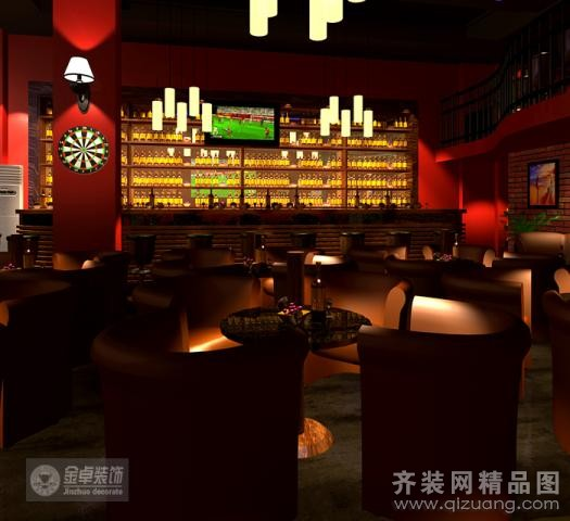 街高迪酒吧欧式风格装修效